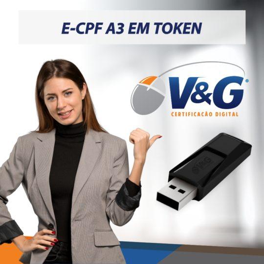 e-cpf em token