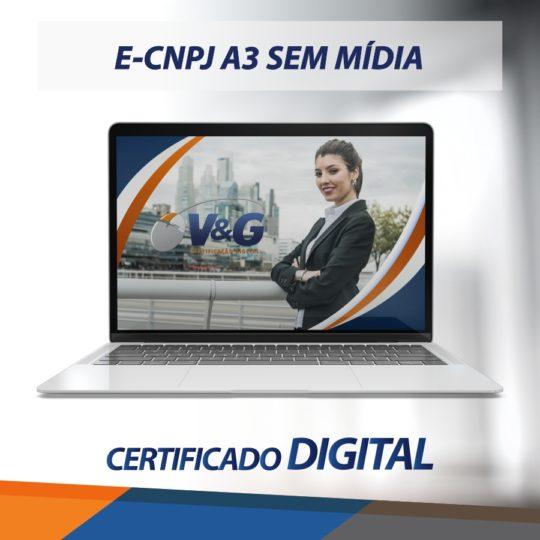 E-CNPJ A3 SEM MÍDIA